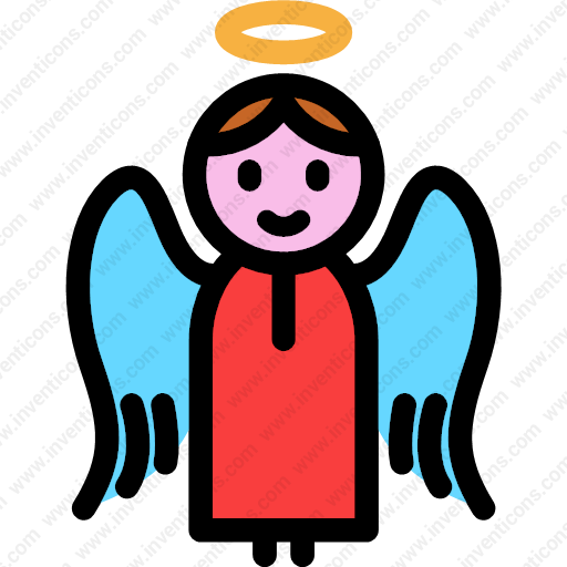 Download Angel,christmas,wings,and,peace,shape Icon Inventicons