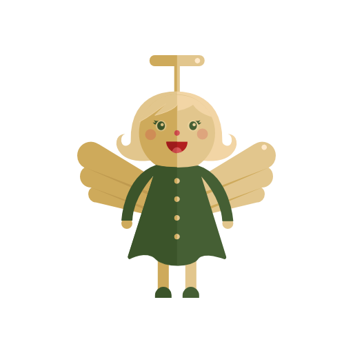 Angel, Christmas Icon Free Of Christmas Icons In Flat