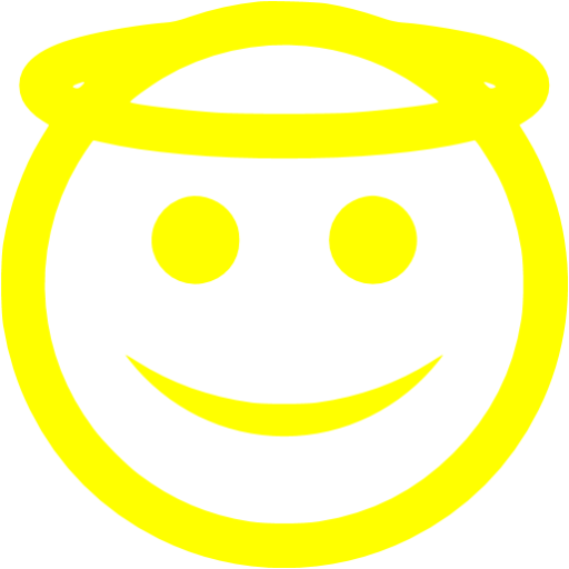 Yellow Angel Icon