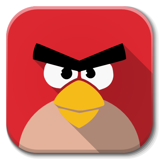 Apps Angry Birds Icon Flatwoken Iconset Alecive