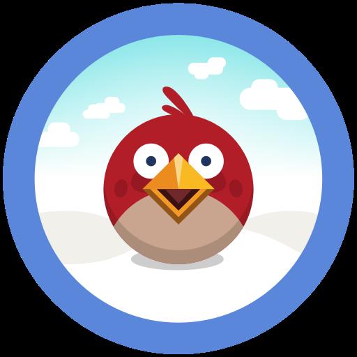 Angry, Birds, Game, Seasons Icon