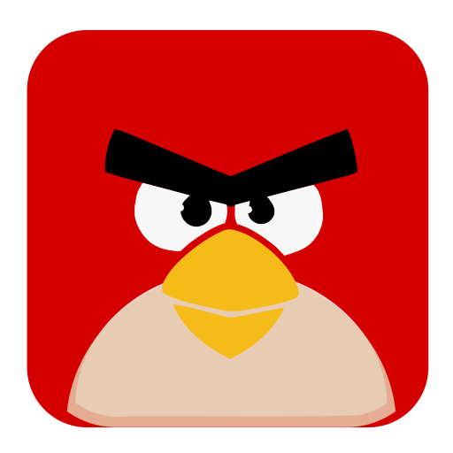 Angry, Birds Icon Free Of Super Flat Remix Apps