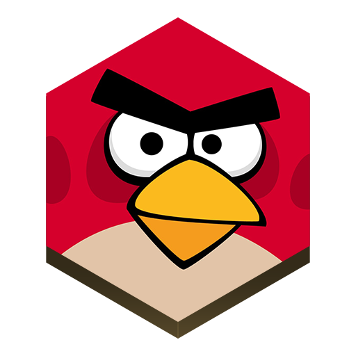 Game Angry Birds Icon Hex Iconset