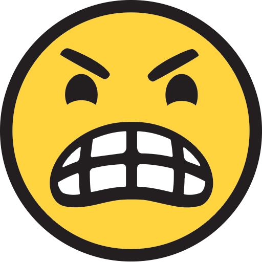 Angry Face Emoji For Facebook, Email Sms Id