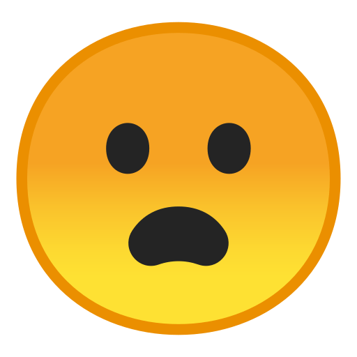 Frowning Face With Open Mouth Emoji Meaning And Pictures