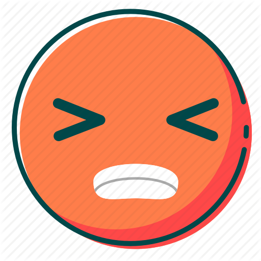 Angry, Avatar, Emoji, Emoticon, Face Icon