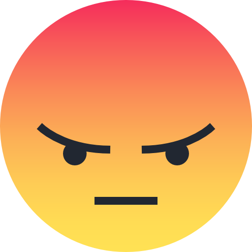 Angry, Emo, Emoticon, Face Icon Free Of Reactions Icons