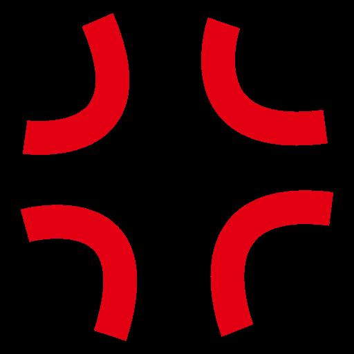 Anger Symbol Emoji For Facebook, Email Sms Id Emoji
