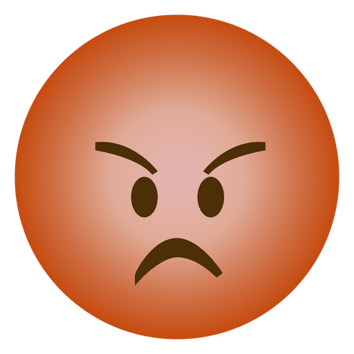 Emoji Angry Emoticon