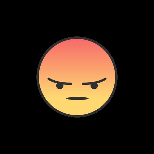 Emoji, Angry, Facebook Icon Free Of Facebook Ui