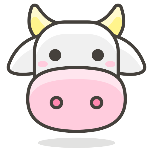 Cow, Animal Icon Free Of Another Emoji Icon Set