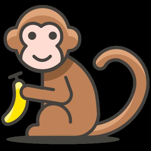 Monkey, Animal Icon Free Of Another Emoji Icon Set