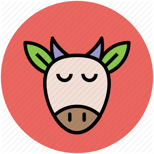 Animal, Billy Goat, Goat Face, Goat Head, Ram Face Icon