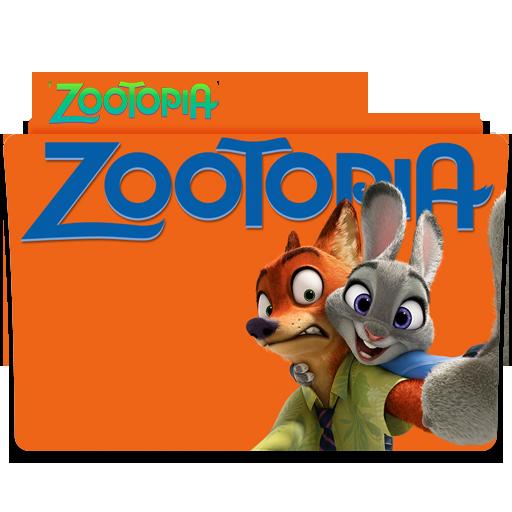 Zootopia Folder Icon
