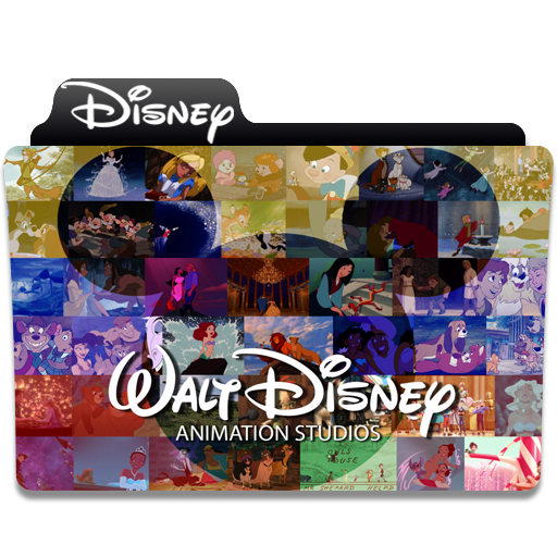 Disney Animation Folder Icon