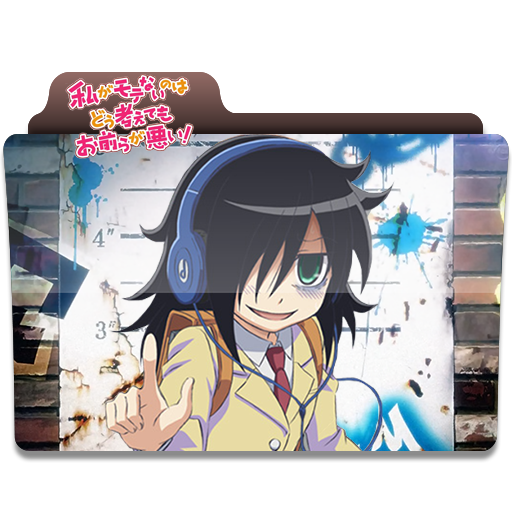 I Threw Together A Watamote Folder Icon For You All I Hope You