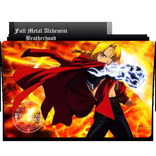 Anime Fire Folder Icons