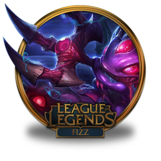 Fizz Void Icon League Of Legends Gold Border Iconset