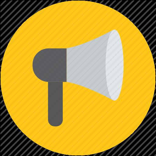 Announcement, Bullhorn, Horn, Megaphone, Speaker Icon