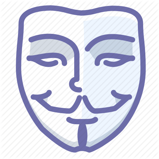 Anonymous, Face, Mask Icon