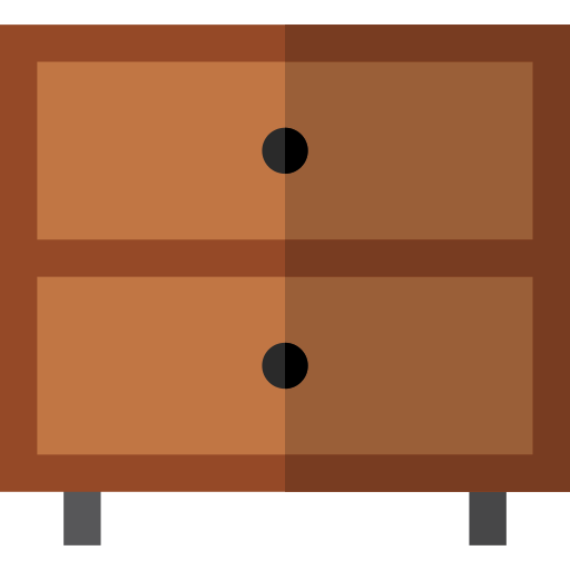 Chest Of Drawers Antique Png Icon