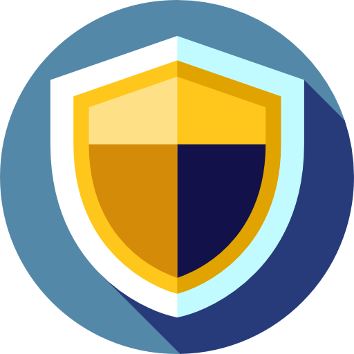 Secure, Security, Shield, Defense, Antivirus Icon