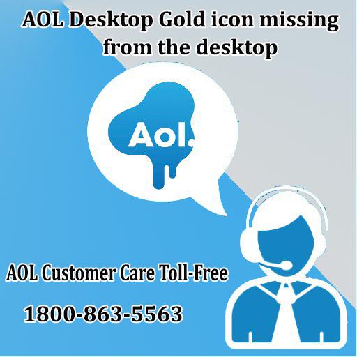 Aol Desktop Gold Icon Missing From The Desktop