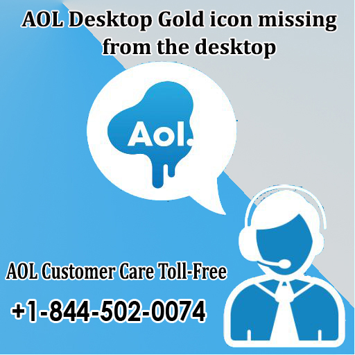 Aol Desktop Gold Icon Missing From The Desktop Aolcustomercare