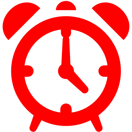 Red Alarm Icon Image Download