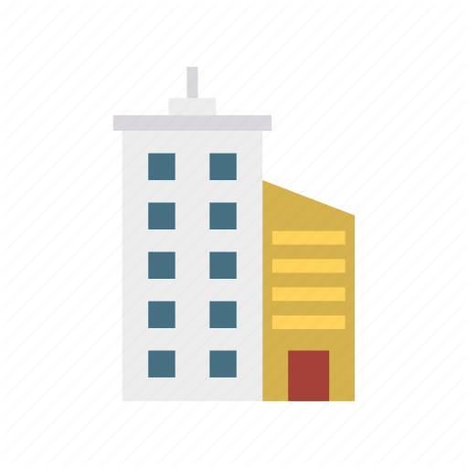 Apartment, Building, Office, Plaza Icon