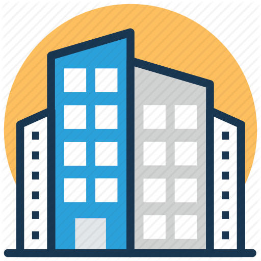 Apartment Blue Building Transparent Png Clipart Free Download