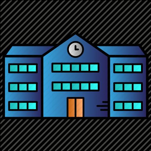 Apartment, Building, Education, School, Study Icon