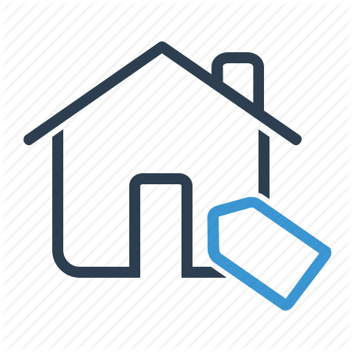 Discount, House, Pricetag, Sell Apartment Icon