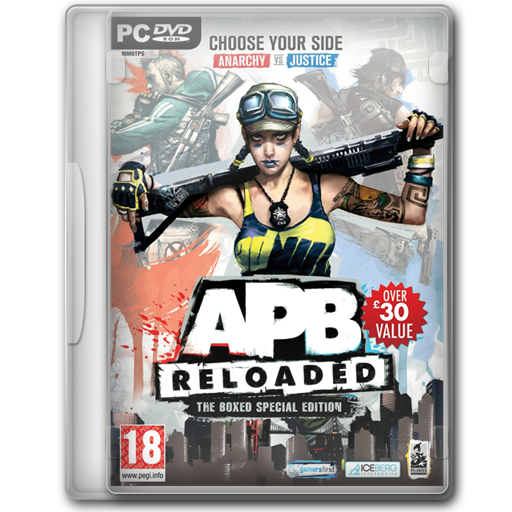 Apb Reloaded The Boxed Special Edition Icon Game Cover