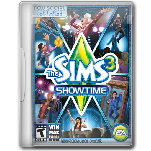 The Sims Showtime Icon Game Cover