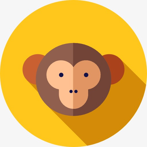 A Monkey Icon, Monkey Clipart, Icon, Monkey Png Image And Clipart