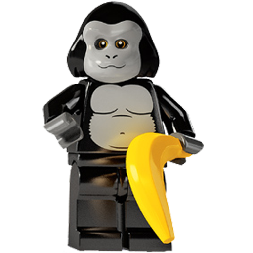 Ape, Lego, Suit Icon