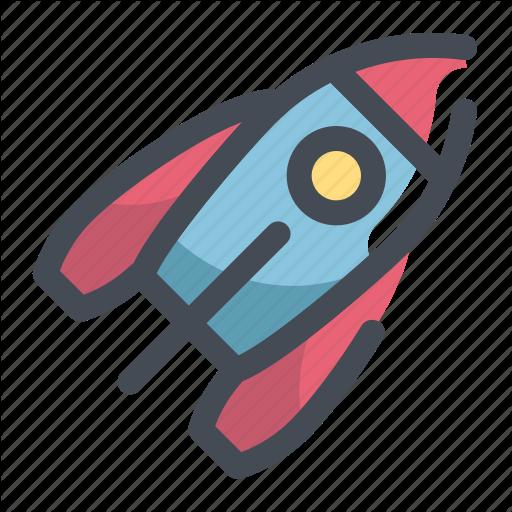Apollo, Rocket, Space Icon