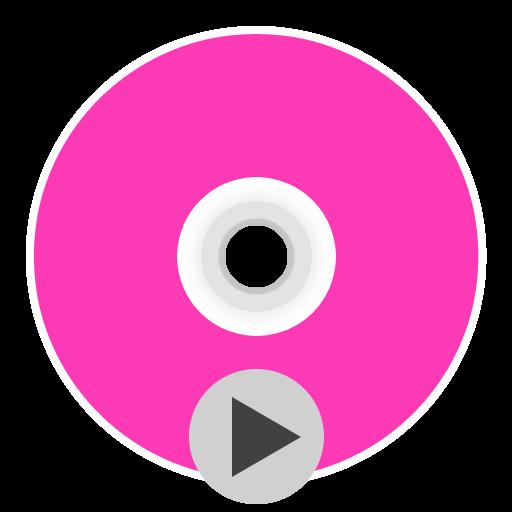 App Dvdplayer Icon The Circle Iconset Xenatt