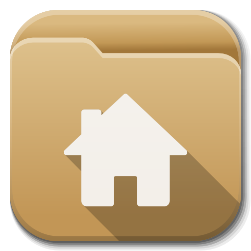 Apps Folder Home Icon Flatwoken Iconset Alecive