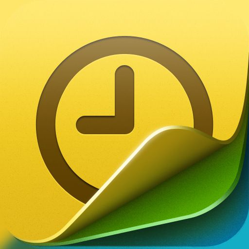 Timenotes App Icon For Iphone, Ipad, And Ipod Touch Uiux Design