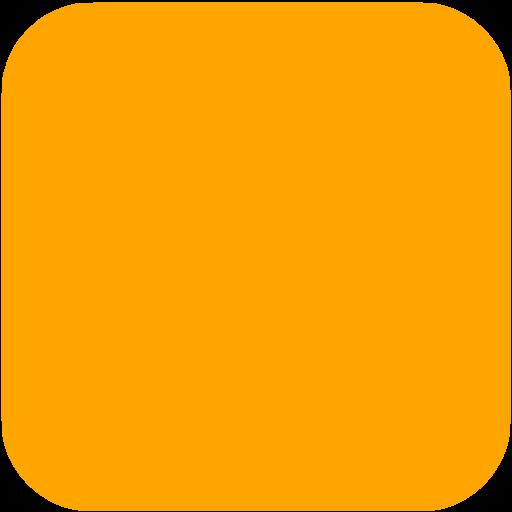 Orange Square Ios App Icon