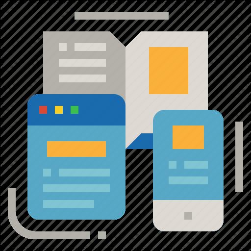 Book, Design, Mockup, Phone, Website Icon