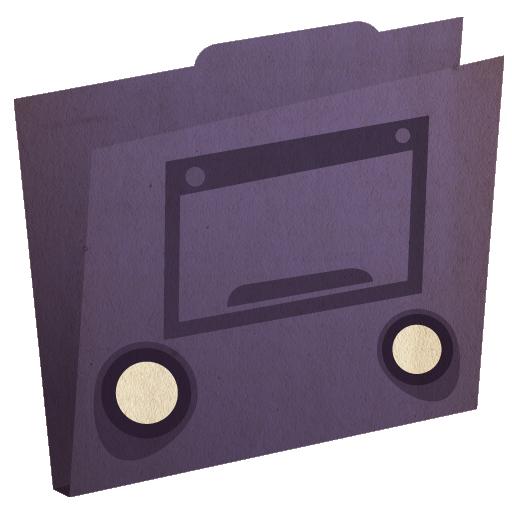 Cool, Desktop, Folder Icon