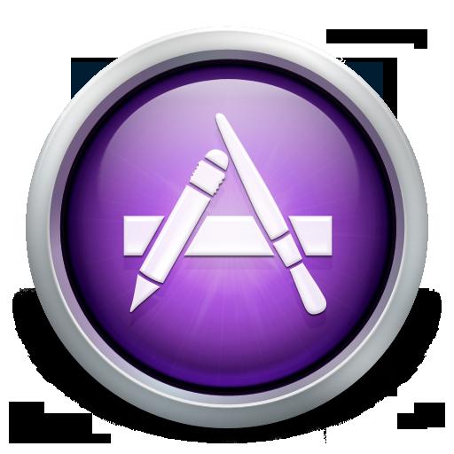 Purple App Store Icon