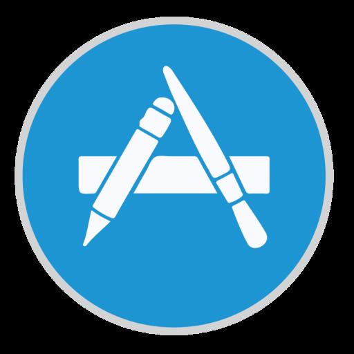 App Store Icon Mac Stock Apps Iconset Hamza Saleem