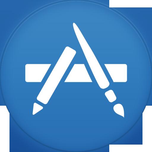 Appstore Icon Circle Iconset