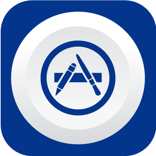 Appstore Icon Rounded Flat Social Iconset Graphicloads