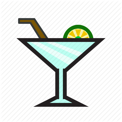 Appetizer Drink, Beach Drink, Cocktail, Food Icon