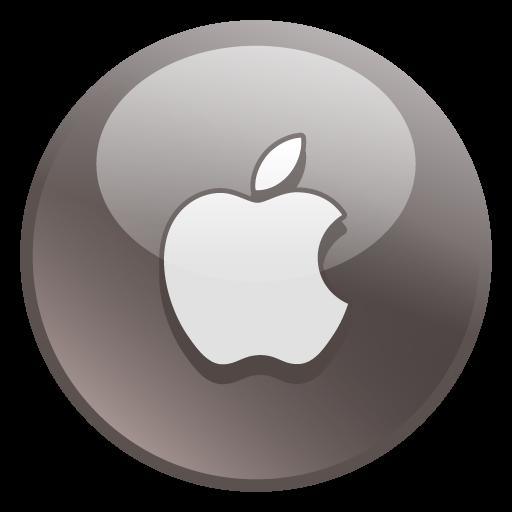 Apple Icon Glossy Social Iconset Social Media Icons